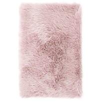 AmeliaHome Kožušina Dokka ružová, 60 x 90 cm