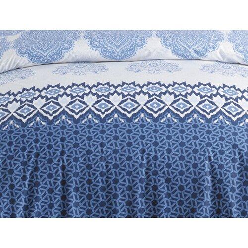 Bavlnené obliečky Trevi Blue, 140 x 200 cm, 70 x 90 cm
