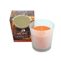Arome Kónická vonná svíčka ve skle Sweet Home, 100 g