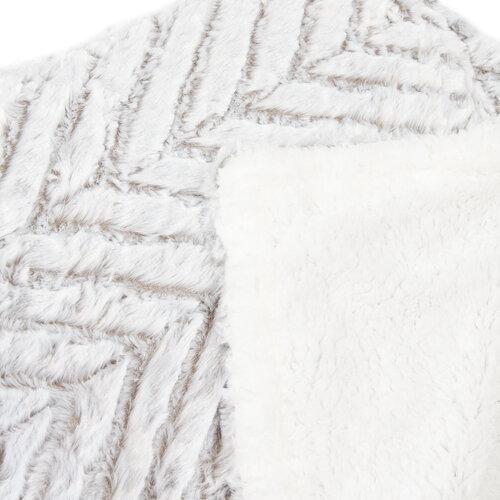 Beránková deka XXL Silver gray, 200 x 240 cm