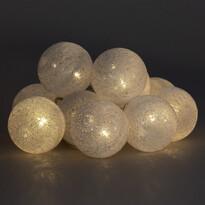 Lampki świetlne La Balle, biały