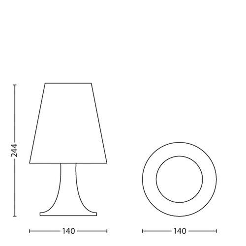 Philips Disney Lampă de masă Cars