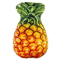 Ananász formázott párna, 30 x 45 cm
