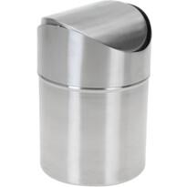 Kosmetický odpadkový koš Coline, nerez, 12 x 16,5 cm