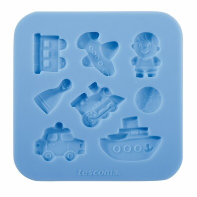 Tescoma DELÍCIA DECO silikónové formičky pre chlapcov