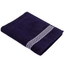 Ručník Greek tmavě modrá, 50 x 90 cm