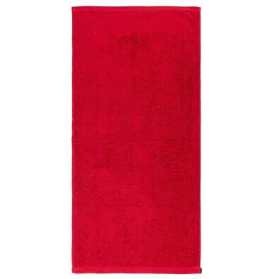 Ručník Eryk červená, 50 x 100 cm