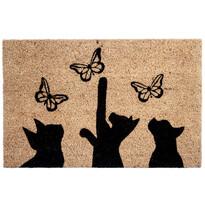 Cicák és pillangók kókusz lábtörlő, 40 x 60 cm