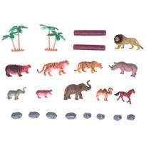 Zestaw Zwierzęta na safari, 22 szt.
