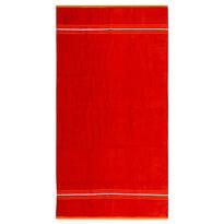 Prosop plajă Fresh Feeling roșu, 90 x 170 cm