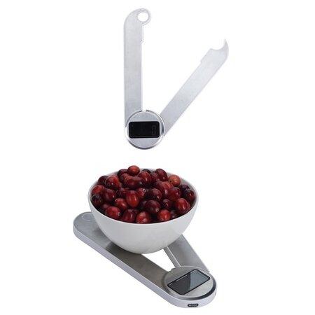 Cântar de bucătărie Orion, digital, pliabil, 5 kg
