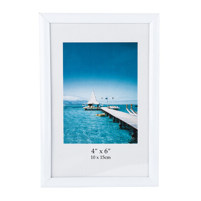 Fotorámeček 10 x 15 cm bílý