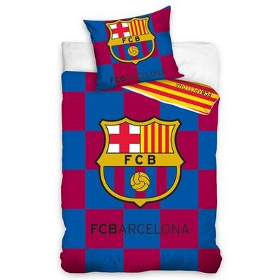 Bavlněné povlečení Barcelona Check, 140 x 200 cm, 70 x 80 cm