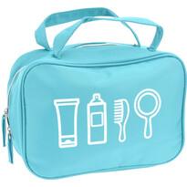 Koopman Kosmetická taštička Cosmetic essentials, světle modrá