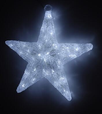 Svítící hvězda, 40 cm
