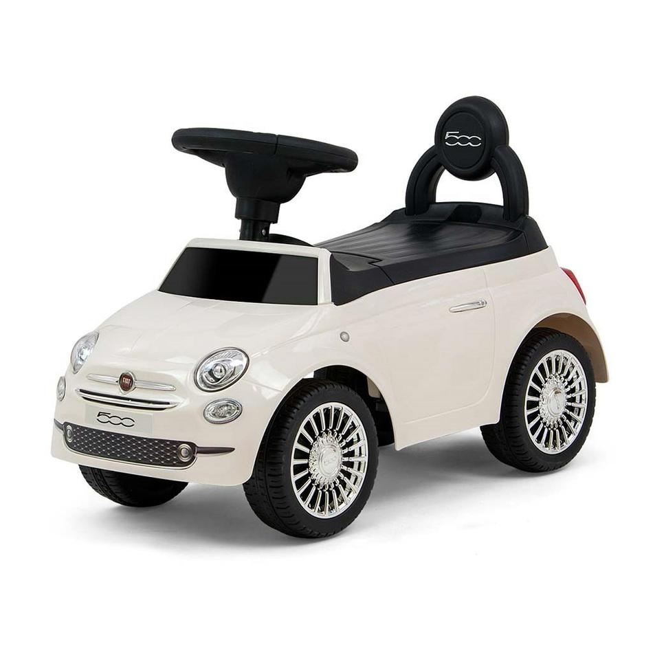 Milly Mally Dětské odrážedlo Fiat bílá, 39 x 28 x 60 cm
