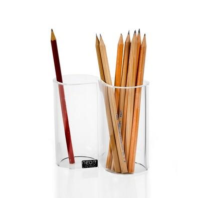 Stojánek na tužky Infinity, transparentní