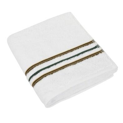 Ručník Zuzka bílá, 50 x 100 cm