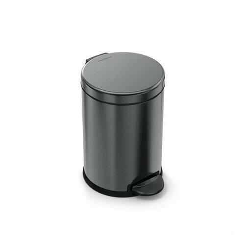 Simplehuman kulatý pedálový koš 4,5 l, černá