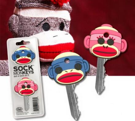 Ponožkové opice na klíče