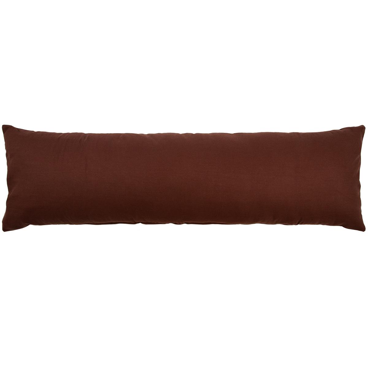 Trade Concept Povlak na Relaxační polštář Náhradní manžel UNI hnědá, 50 x 150 cm
