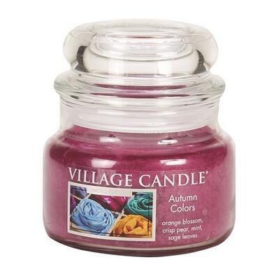 Village Candle Vonná sviečka v skle Farby jesene - Autumn Colors, 269 g