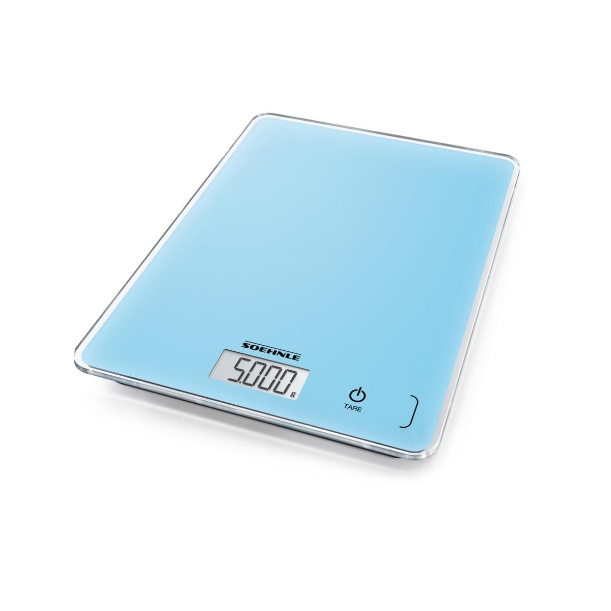 Page Compact 300 Pale Blue kuchynská váha - digitálna SOEHNLE 61511