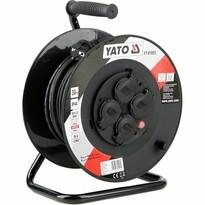 Yato YT-81053 Prelungitor pe tambur cu 4 prize, 30 m