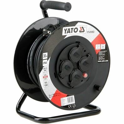 Yato YT-81053 Bubnový prodlužovací kabel se 4 zásuvkami, 30 m