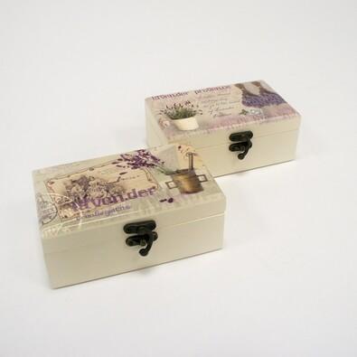Dárková krabička se zrcátkem, 16 x 9,5 x 6,5 cm