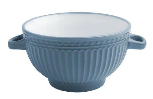 Florina Keramická polévková miska Doric 620 ml, modrá