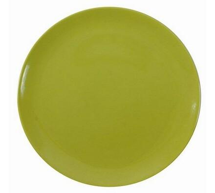 Ambition servírovací talíř zelený 32 cm