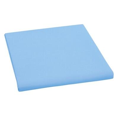 Plátěné prostěradlo, modrá, 150 x 230 cm