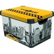 Curver  NEW YORK úložný box dekoratívny  velký