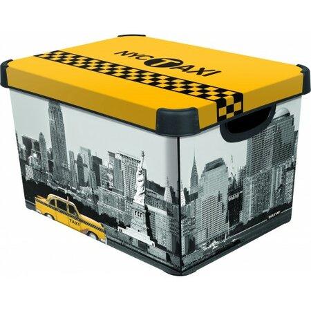 Úložný box dekoratívny L NEW YORK, Curver
