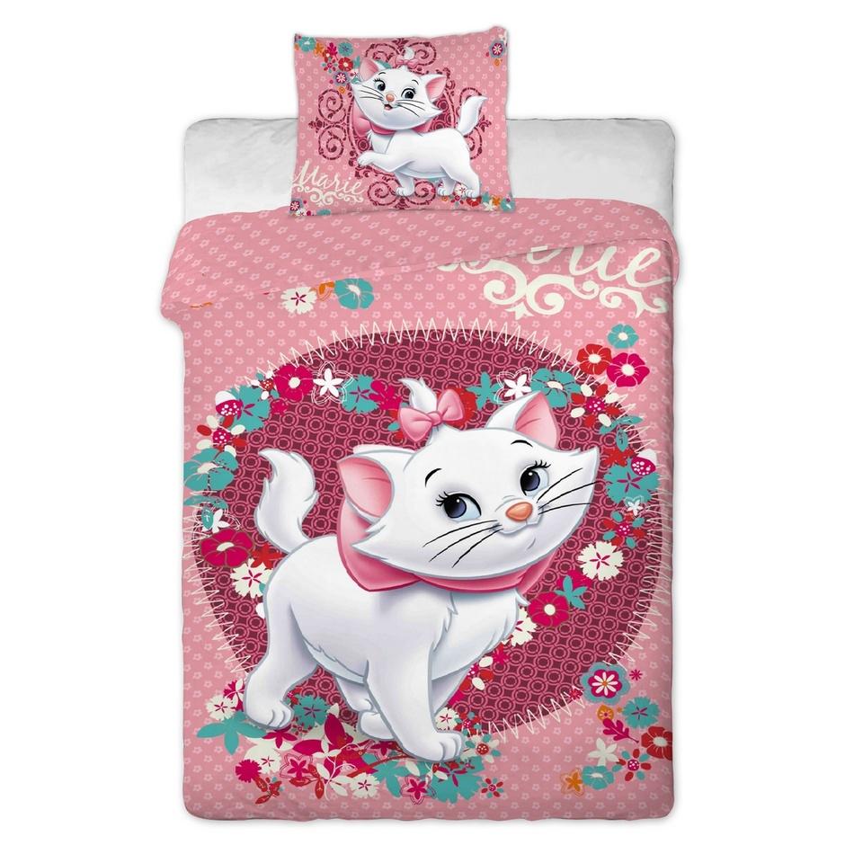 Jerry Fabrics detské bavlnené obliečky Mačka Marie 2014 140 x 200 cm 70 x 90 cm