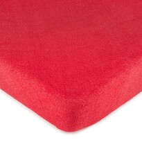 4Home frottír lepedő piros, 160 x 200 cm