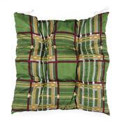 Sedák s kostičkami zelená, 40 x 40 cm