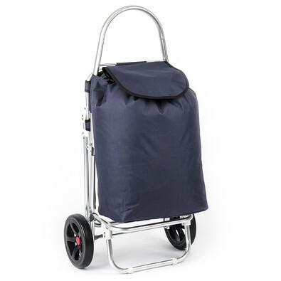 Nákupná taška na kolieskach Roma modrá