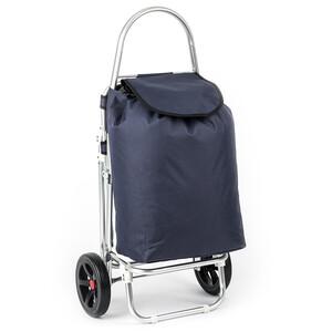 Nákupní taška na kolečkách Roma modrá
