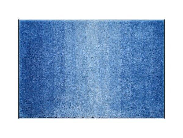 Koupelnová předložka Grund RIALTO modrá, 60 x 90 cm