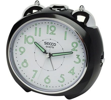 Secco S CA515-3 budík černý