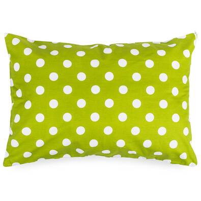 4Home Povlak na polštářek Zelený puntík, 50 x 70 cm