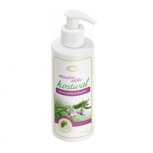 Topvet Kostivalové masážní mléko, 200 ml