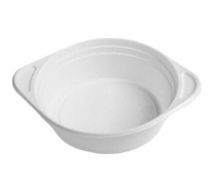 Polévková jednorázová miska, 24 ks, bílá