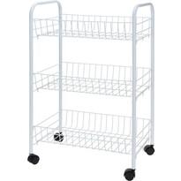 3-poschodový kuchynský vozík