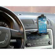 Držák telefonu/GPS do CD, černá