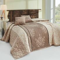Natura ágytakaró barna, 220 x 240 cm, 2x 40 x 40 cm