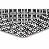 Cearșaf DecoKing Triangles, S2, 90 x 200 cm