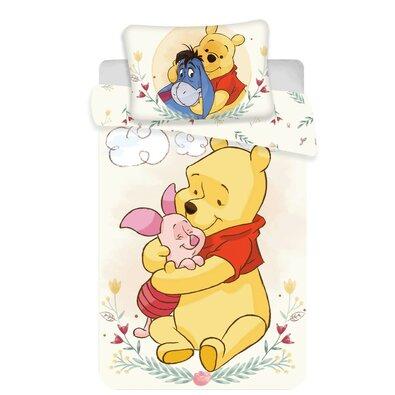Gyermek pamut ágynemű kiságyba WTP cute baby, 100 x 135 cm, 40 x 60 cm